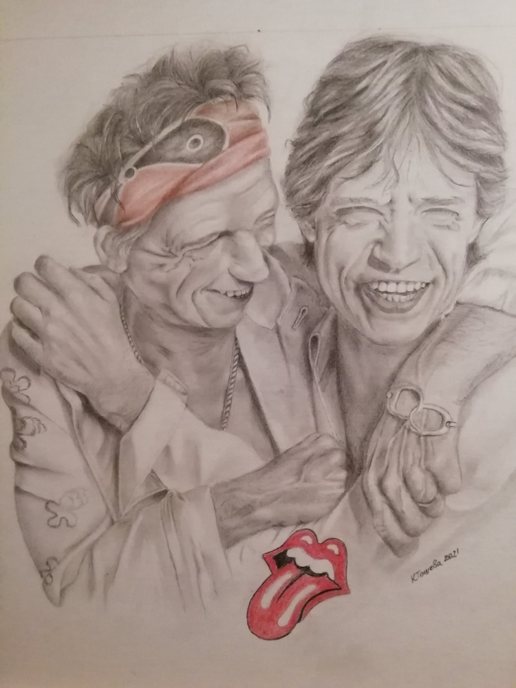 The Rolling Stones by kristiart